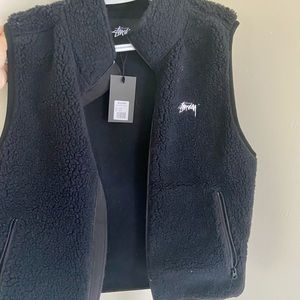 Stussy vest (can be worn by women)